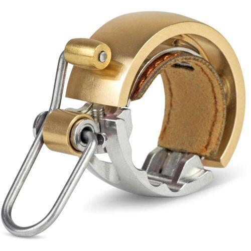 Knog OI Luxe Fahrradklingel - Small Brass   Fahrradklingeln