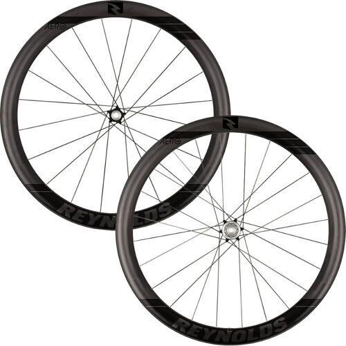 Reynolds Aero 46 Black Label Carbon Disc Rennrad Laufradsatz - Schwarz