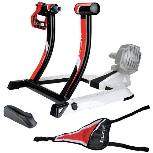 Elite Qubo Fluid Turbotrainer (Set) - Black/White/Red   Turbotrainer
