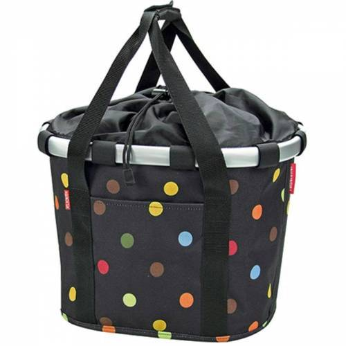 Rixen Kaul Fahrradkorbtasche - One Size Dots   Gepäckträgertaschen