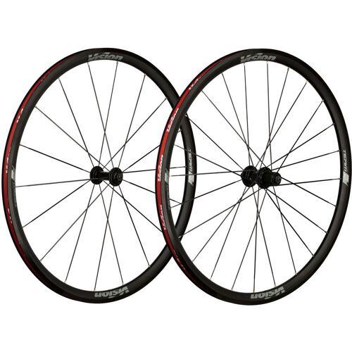 Vision Team 30 Rennrad Laufradsatz - 700c 10/11 Speed Black - Grey