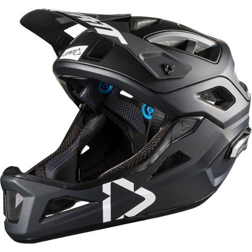 Leatt DBX 3.0 Enduro Fahrradhelm - S 51-55cm Black - White   Helme