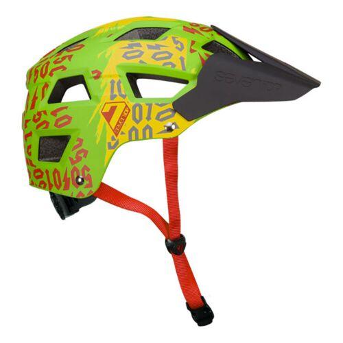 7 iDP M5 Fahrradhelm - S/M 50:01 Rasta   Helme