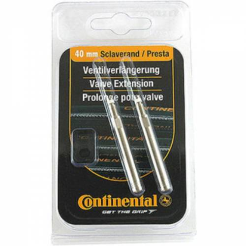 Continental - Ventilverlängerungen - 40mm Presta Silber