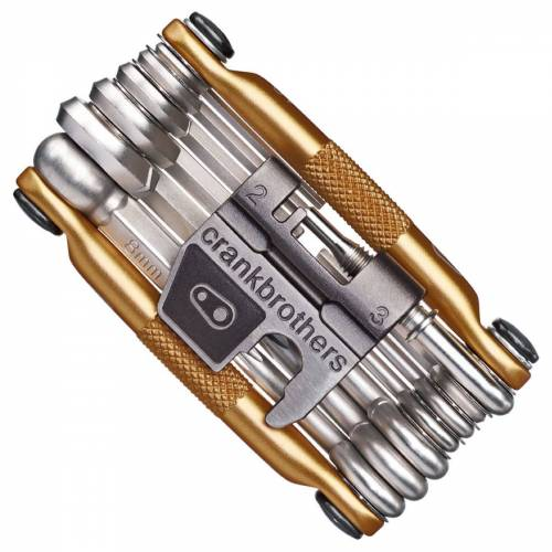 Crank Brothers Multitool (19 Funktionen, Gold) - Gold   Multitools