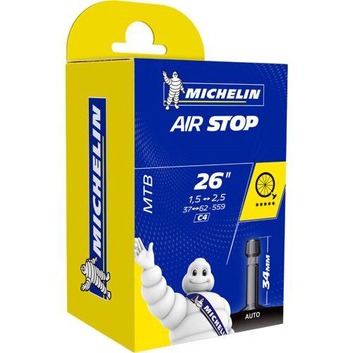 "Michelin C4 AirStop Butyl MTB Fahrradschlauch - 26"" 1.45 - 2.6"" 34mm"