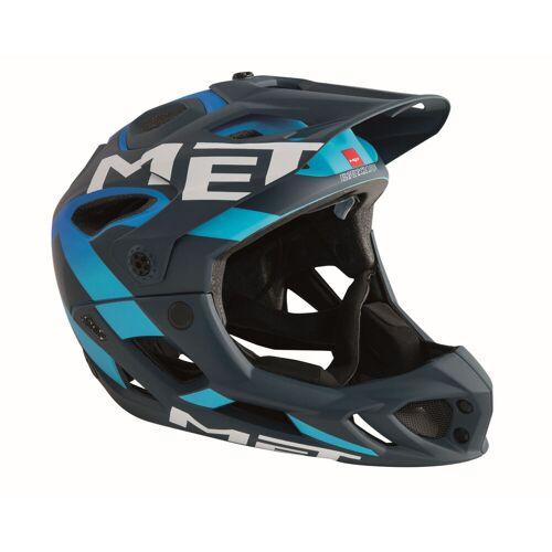 MET Parachute Integralhelm - S Blue/Blue   Helme
