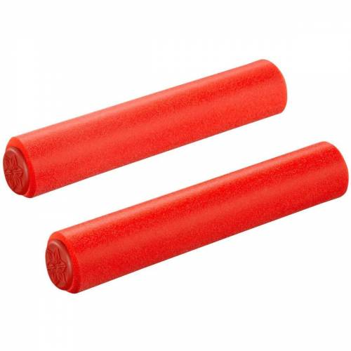 Supacaz Siliconez SL Lenkergriffe - 34mm Rot   Griffe