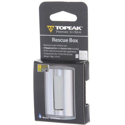 Topeak Rescue Box Flickzeug - Silber   Werkzeugsets