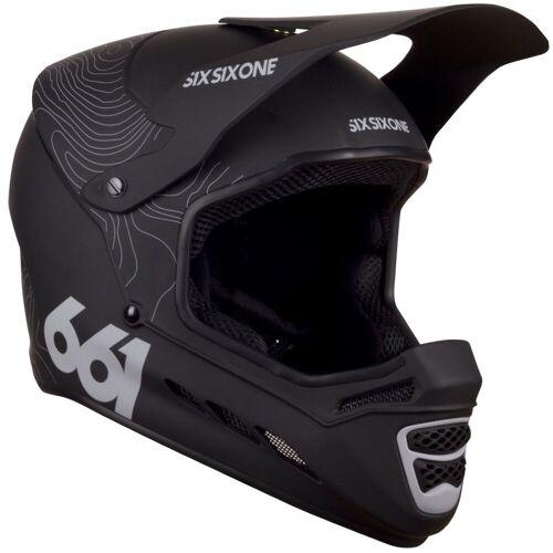 SixSixOne Reset Fahrradhelm - 2XL Contour Black   Helme