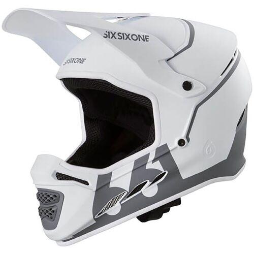 SixSixOne Reset Fahrradhelm - L Weiß   Helme