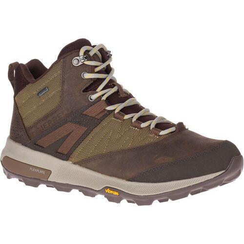 Merrell Zion Gore Tex Mid Wanderschuhe - UK 10.5 Braun   Stiefel