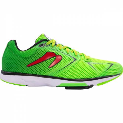 Newton Running Shoes Distance 9 S Laufschuhe - 7 Emerald/Red
