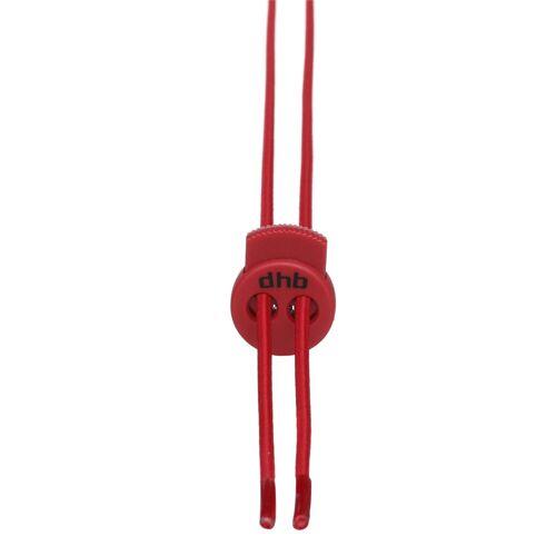 dhb Elastische Schnürsenkel - One Size Rot   Schnürsenkel