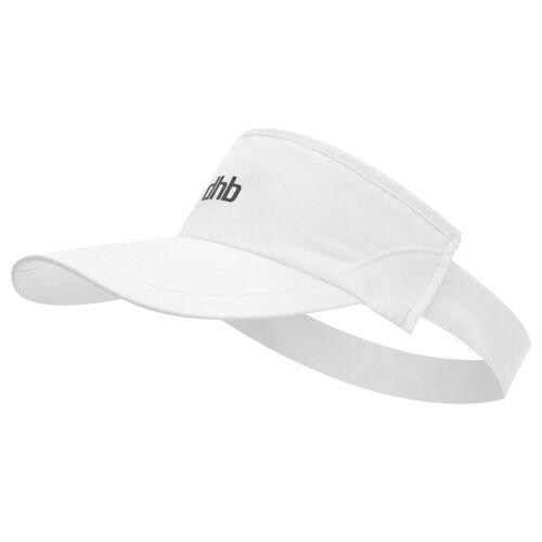 dhb Stirnband mit Schirm - One Size Weiß   Schirmkappen