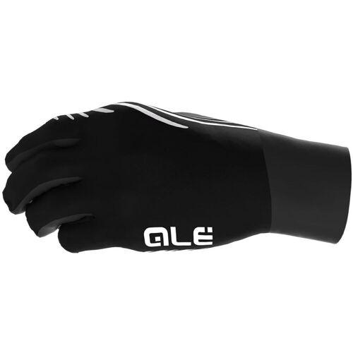 Alé Liner Radhandschuhe - 2XL Schwarz/Weiß   Handschuhe