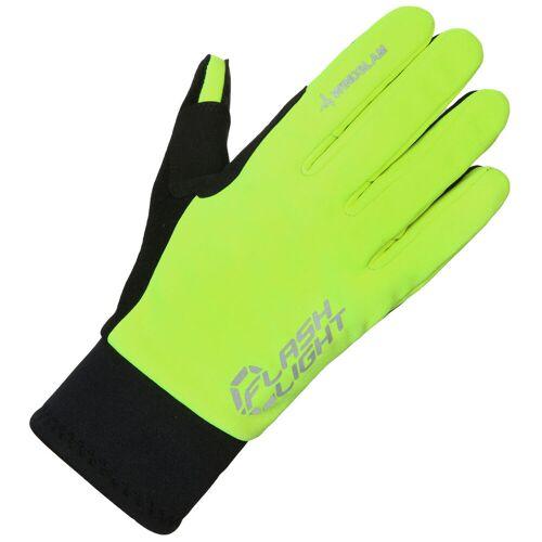 dhb Flashlight Radhandschuhe (winddicht) - 2XL Gelb   Handschuhe