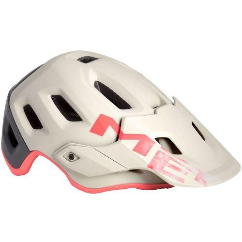 MET Roam MTB Fahrradhelm - S Dirty White Grey Pin   Helme