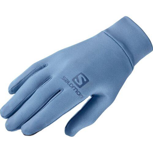 Salomon Agile Warm Laufhandschuhe - Small Copen Blue   Handschuhe