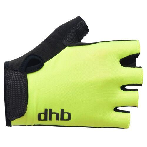 dhb Radhandschuhe (kurz) - X Small Gelb   Handschuhe