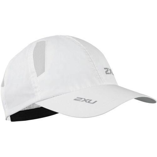 2XU Laufkappe - One Size Weiß   Kappen