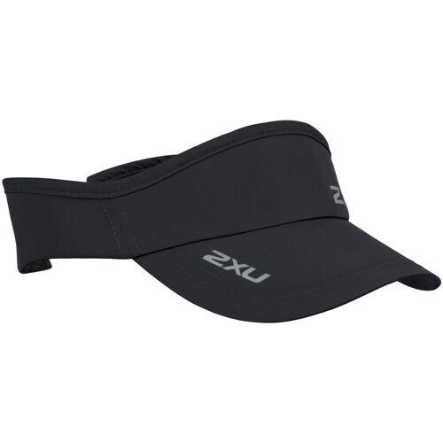 2XU Run Stirnband mit Schirm - One Size Schwarz   Schirmkappen