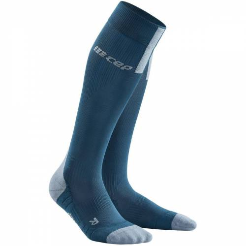 CEP 3.0 Laufsocken Frauen - M Blau / Grau   Socken
