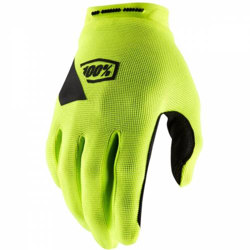 100% Ridecamp Handschuhe - XXL Neongelb   Handschuhe