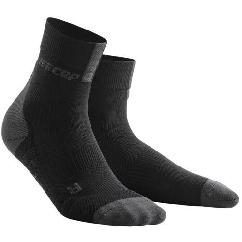 CEP 3.0 Socken Frauen (kurz) - S Black/Dark Grey   Socken
