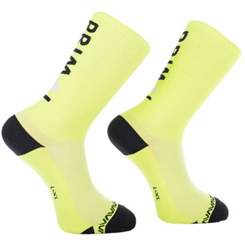 Primal Neon Logo Socken - L/XL Gelb   Socken