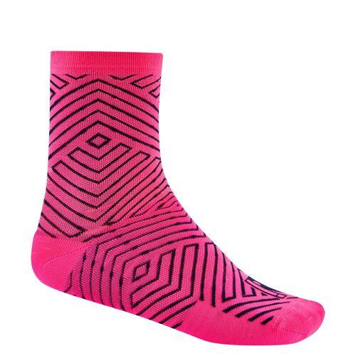 Ratio Maze Socken (16 cm) - UK 2.5-6 (EU 35-39) Rosa   Socken