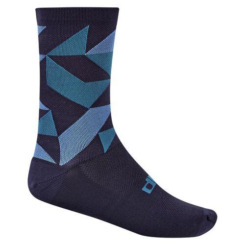 dhb Blok Rock Radsocken  - UK 2.5 Marineblau/Blau   Socken