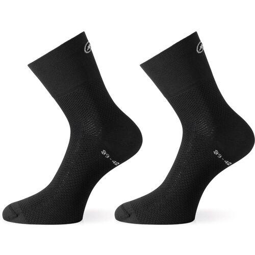 Assos Mille GT Radsocken - 0 blackSeries   Socken