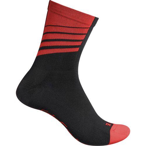 GripGrab Racing Socken - S Schwarz/Rot   Socken