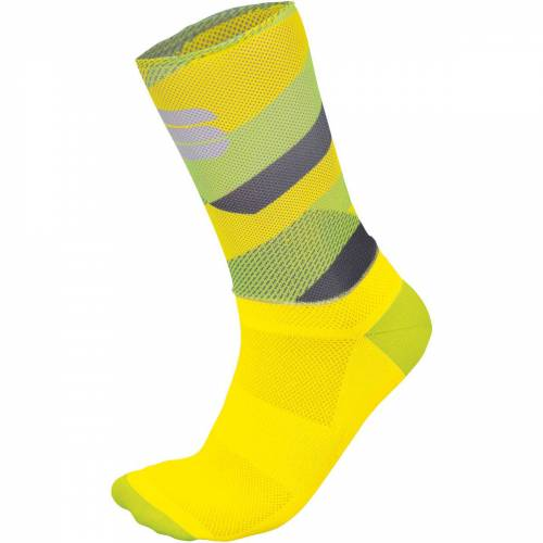 Sportful Bodyfit Team 15 Radsocken - XL YELLOW FLUO/TWEETY Y   Socken