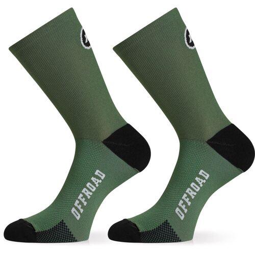 Assos XC Socken - 0 Mugo Green   Socken