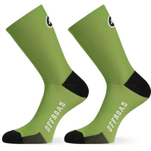 Assos XC Socken - 0 Pan Green   Socken