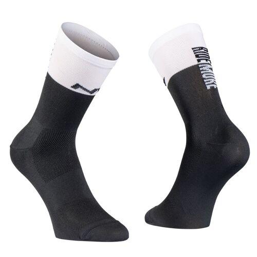 Northwave Work Less Ride More Socken - L Schwarz/Weiß   Socken