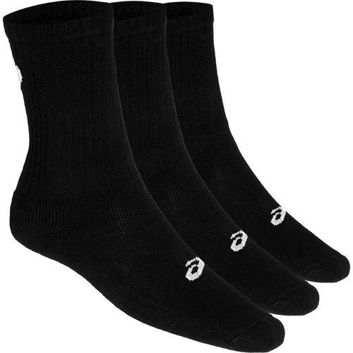 Asics 3PPK Crew Socken - Medium BLACK   Socken