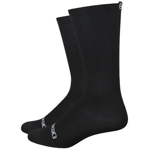 DeFeet Evo Disruptor Socken - XL Schwarz   Socken