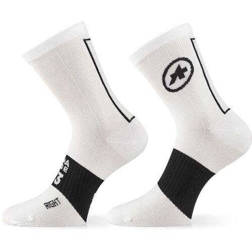 Assos ASSOSOIRES Radsocken - 0 Holy White   Socken