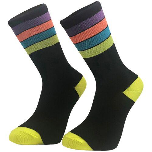Primal Neon Stripe Socken - L/XL Neon   Socken