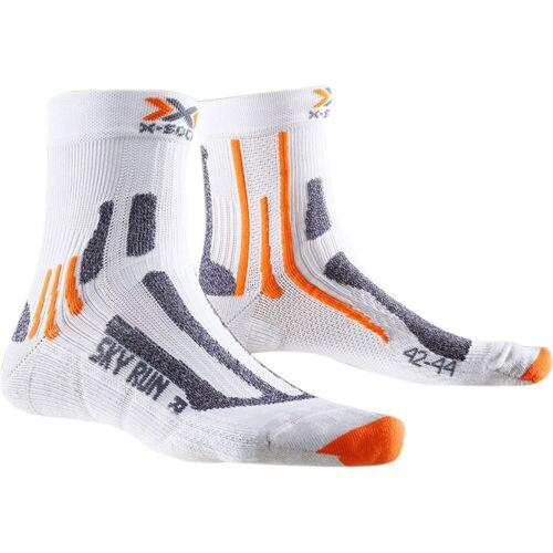 X-Socks Sky Run 2.0 Laufsocken - 3-5.5 UK Weiß   Socken