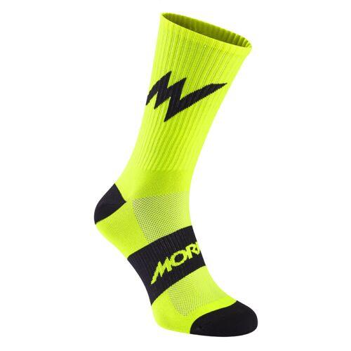 Morvelo Series Emblem Radsocken  - S/M Gelb   Socken