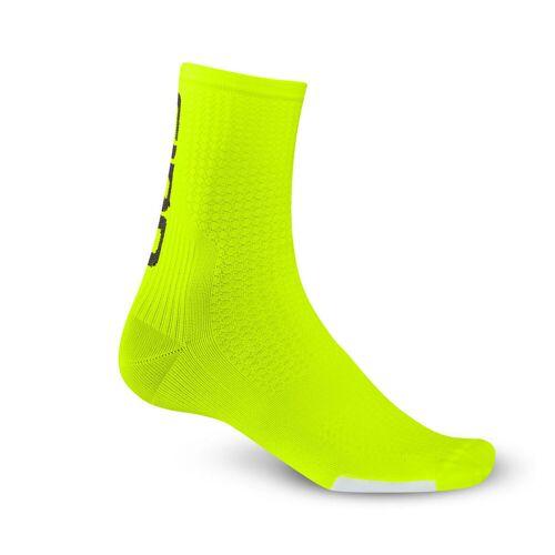 Giro HRc Team Socken - S Gelb/Schwarz   Socken