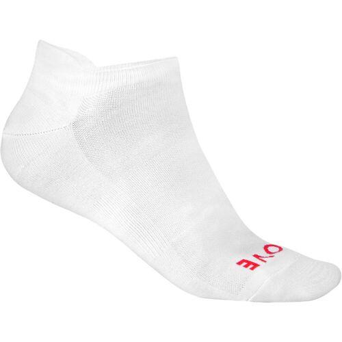 GripGrab No Show Sommersocken - M Weiß   Socken