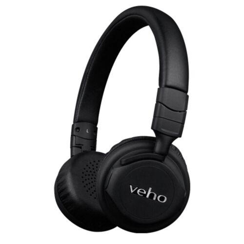 Veho ZB 5 On Ear Bluetooth Kopfhörer (drahtlos) - One size Black