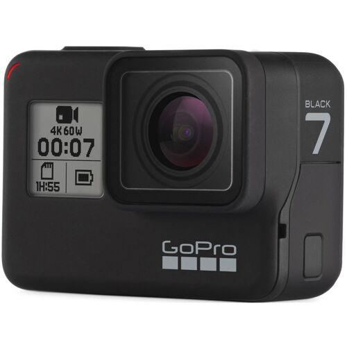 GoPro HERO7 Action Kamera (schwarz) - One Size Schwarz   Kameras