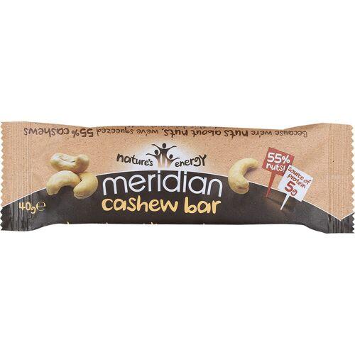 Meridian Cashew-Riegel (18 x 40 g) - 18 x 40g 11-20 Cashew   Riegel