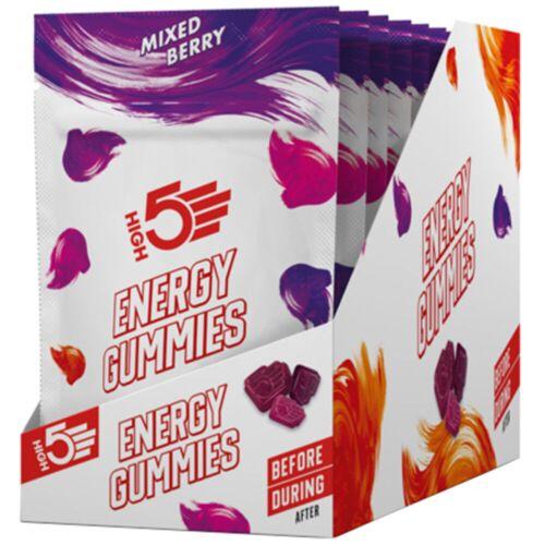 HIGH5 Energy Fruchtgummis (10 x 26 g) - 10x26g Mixed Berry